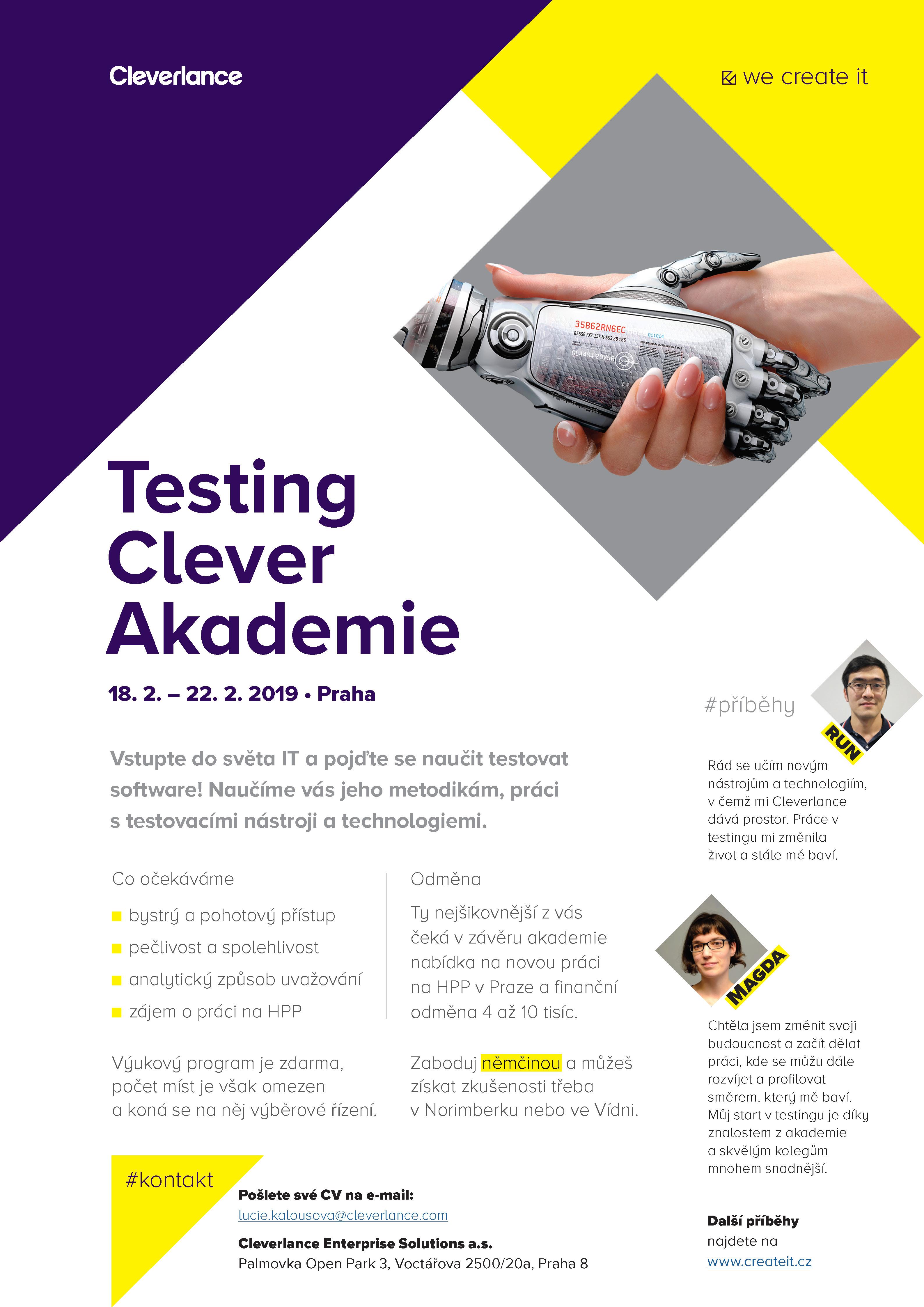 Testing akademie